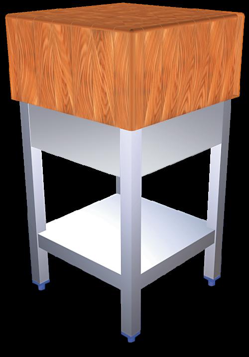 Tajos de troceo madera con faldón