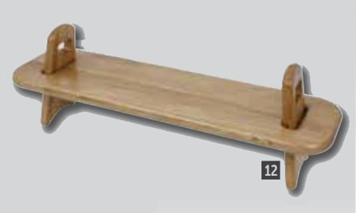 Elevadores de madera de roble