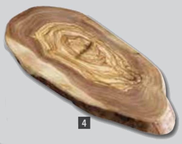 Tablas de madera de olivo