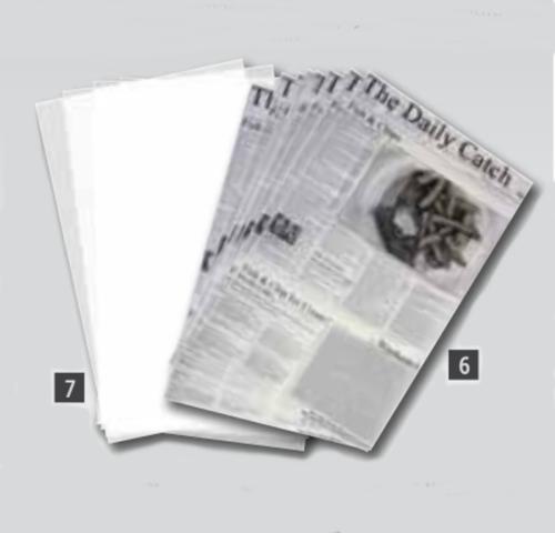 Láminas papel antigrasa