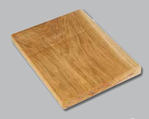 Tabla de presentación de madera rústica