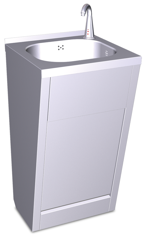 Lavamanos registrable electrónico de agua fría y caliente