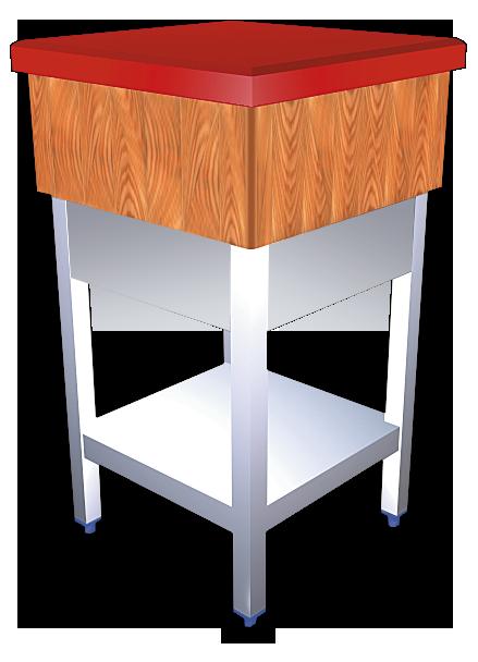 Tajos de troceo madera y fibra con faldón