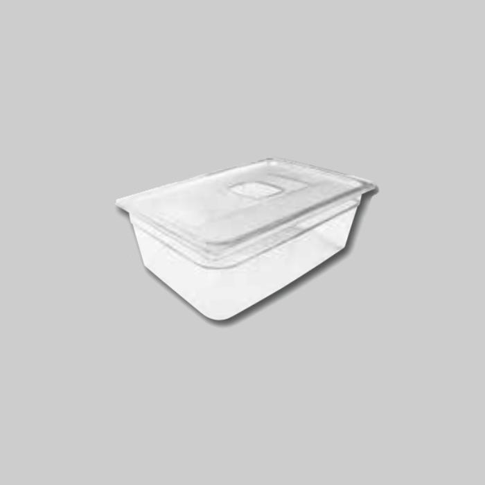Contenedores Gastronorm de policarbonato para preparados fríos Tamaño 1/1