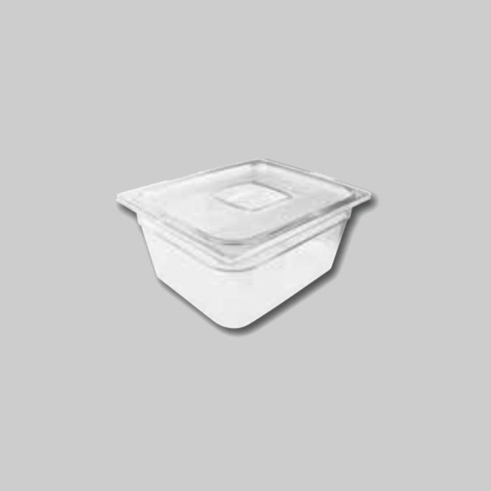 Contenedores Gastronorm de policarbonato para preparados fríos Tamaño 1/2