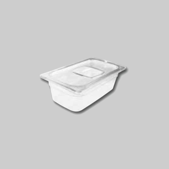 Contenedores Gastronorm de policarbonato para preparados fríos Tamaño 1/3