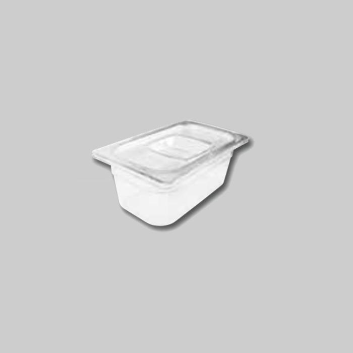 Contenedores Gastronorm de policarbonato para preparados fríos Tamaño 1/4