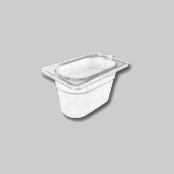 Contenedores Gastronorm de policarbonato para preparados fríos Tamaño 1/9