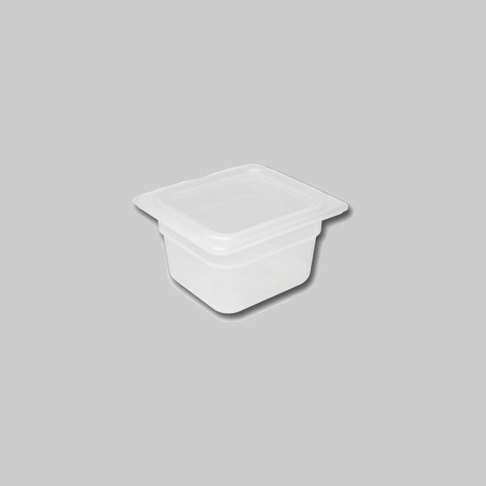 Contenedores de polipropileno Gastronorm 1/6