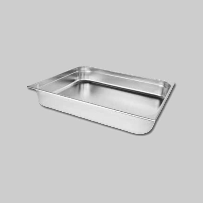 Recipientes Gastronorm de acero inoxidable Tamaño 2/1