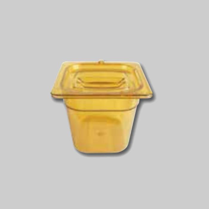 Contenedores Gastronorm de policarbonato para preparados calientes Tamaño 1/6