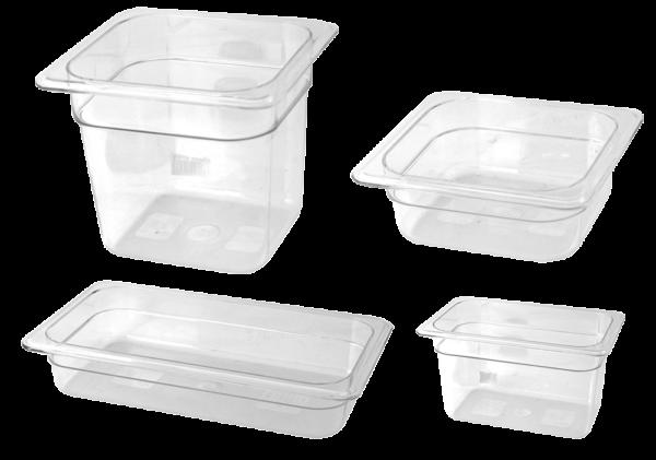 Cubetas Gastronorm policarbonato