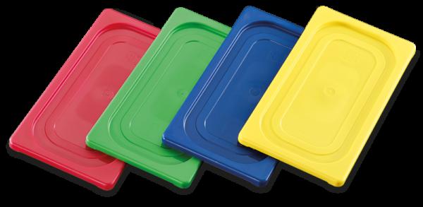 Tapas de polipropileno GN de colores