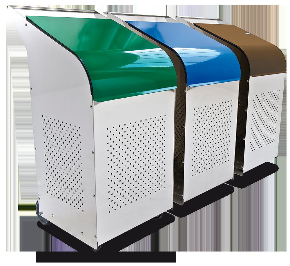 Contenedor para reciclado