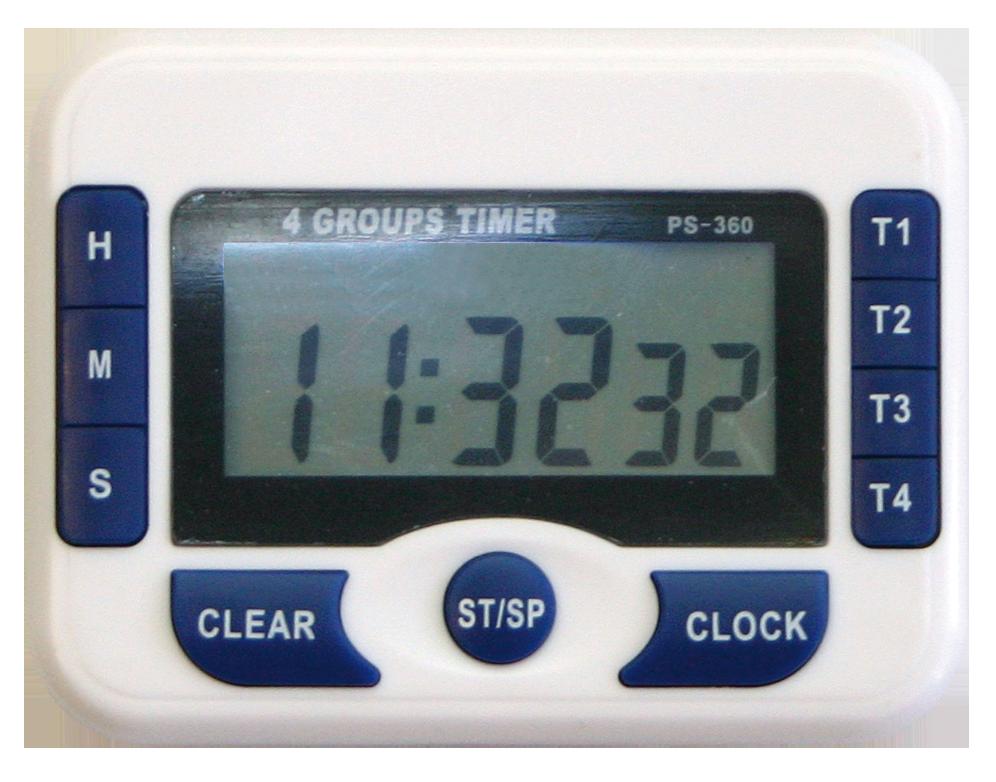 Cronómetro digital de cocina