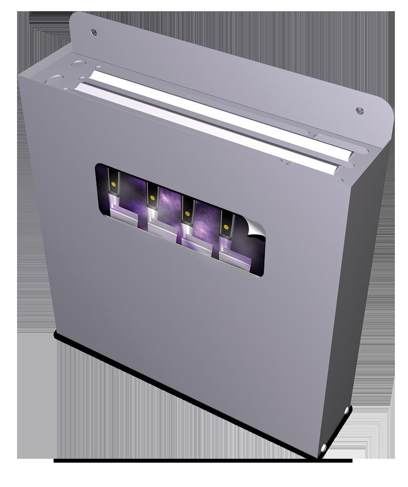 Esterilizador de cuchillos mediante ozono para adosar