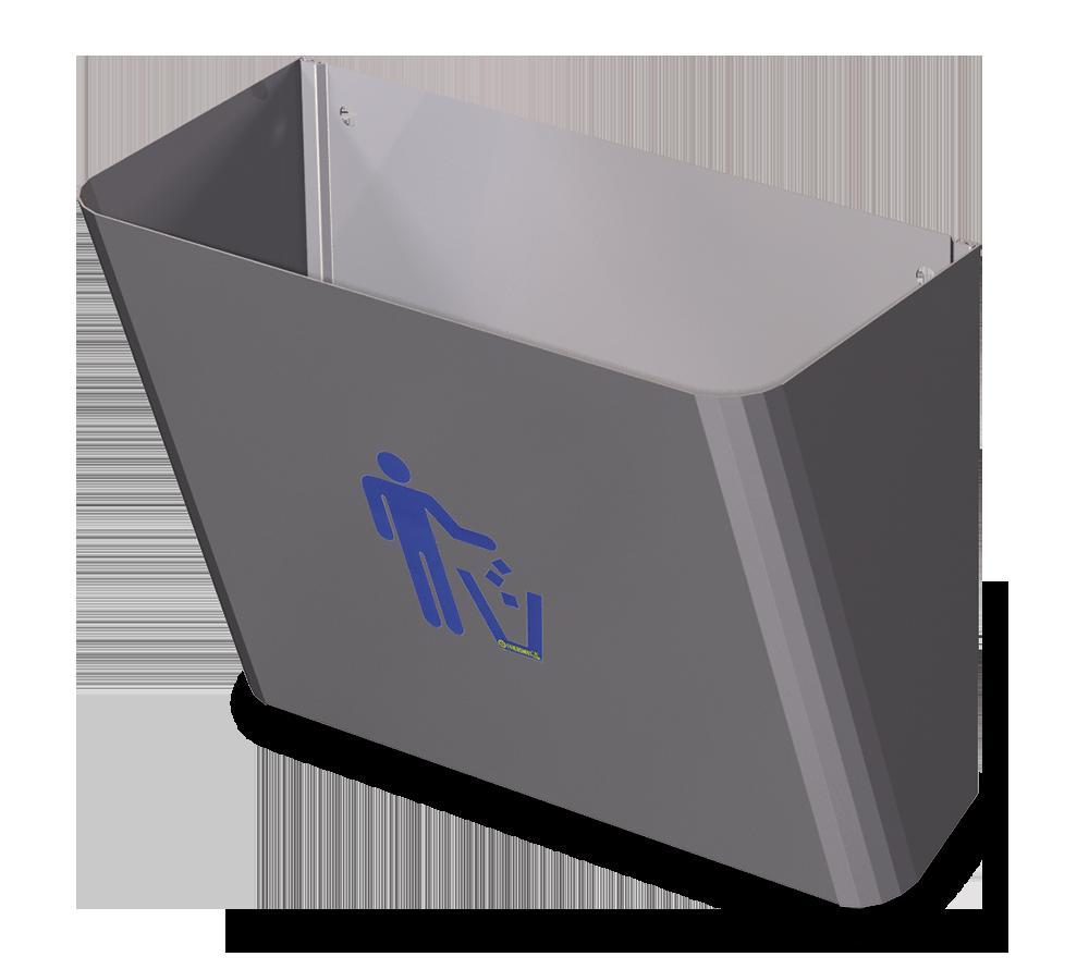 Papelera-dispensador de bolsas de papel