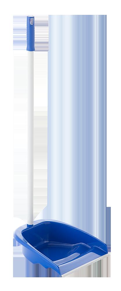 Recogedor con palo metálico