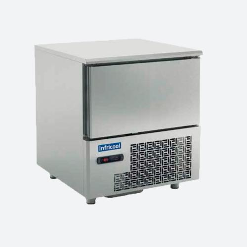 Abatidores y congeladores de temperatura 3 y 5 niveles   serie iabt infricol