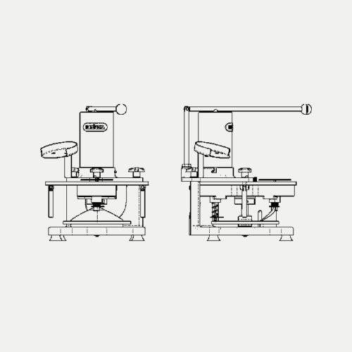 Hamburguesera Manual - MA5, MA10 - Mainca