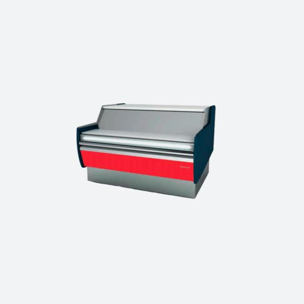 Vitrina expositora frio ventilado con reserva serie mallorca