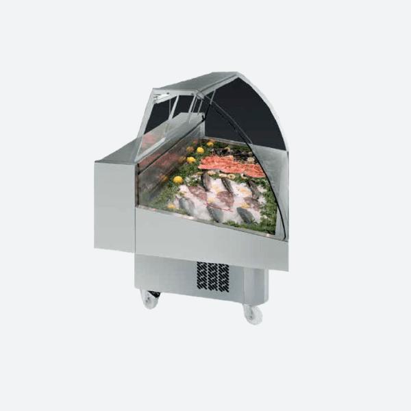 Vitrina expositora pescado  serie vml malaga