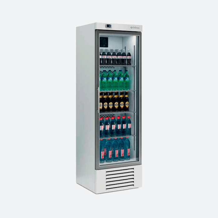 Expositor refrigerado vertical serie erc