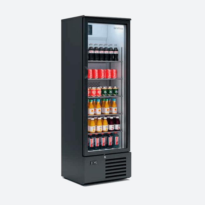Expositor refrigerado vertical serie erv