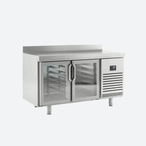 Mesas refrigerada con puerta de cristal serie gn1-1 700
