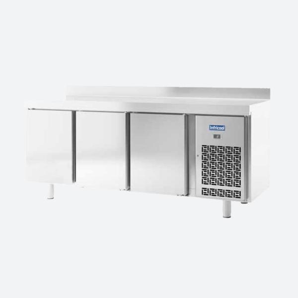 Mesas refrigeradas gn 11 serie im 700 infricol