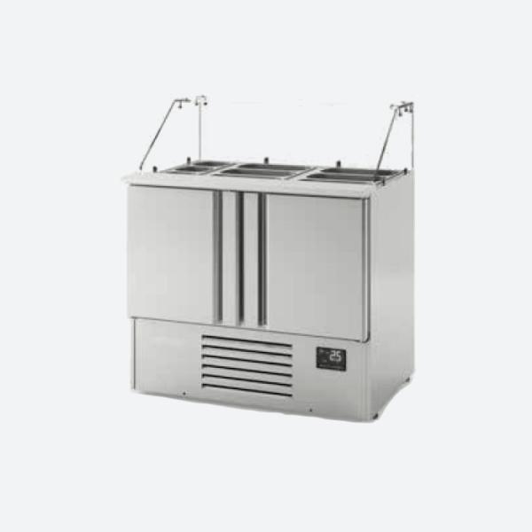 Mesa refrigerada para ensaladas  serie 1700 GN1