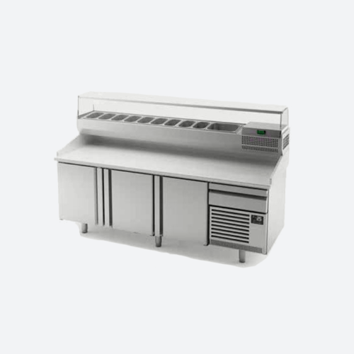 Mesa refrigerada pizza MP800