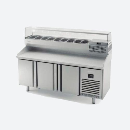 Mesa refrigerada pizza  serie 700 gn 1-1