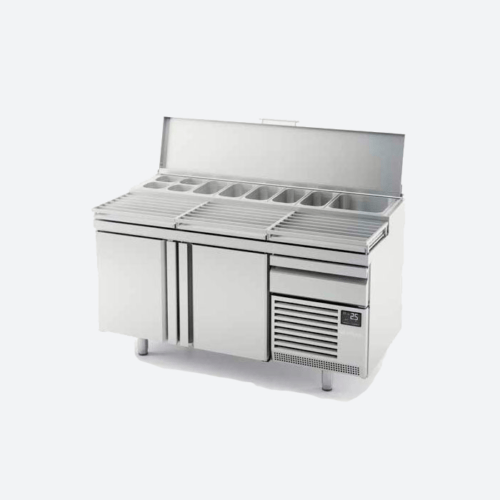 Mesa refrigerada pizza Lucena Serie MPL800