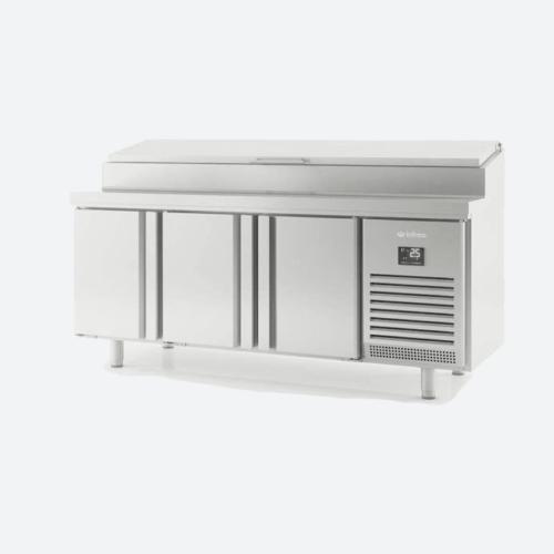 Mesa refrigerada euronorma 600 x400 ensalada