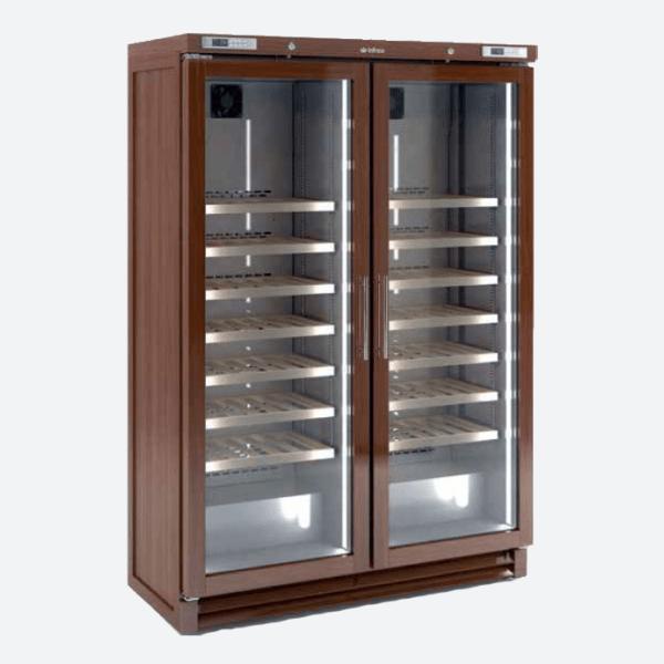Expositor de vino en madera  serie evv