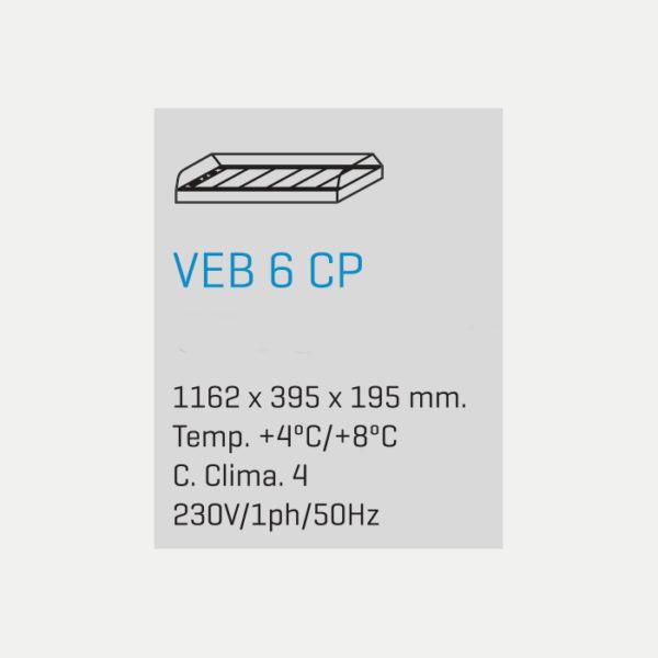 Vitrina para Tapas VEB 6 CP - fred-Despi