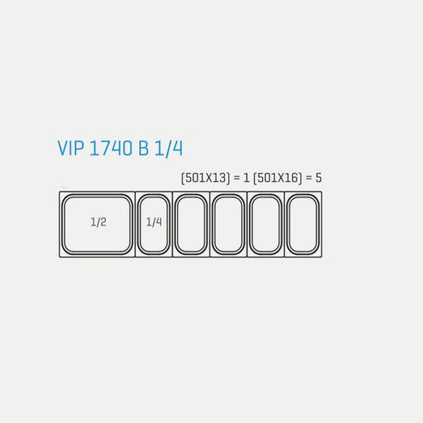 Infrico Vitrina Refrigerada VIP 1740 B