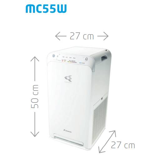 purificador de aire mc55w